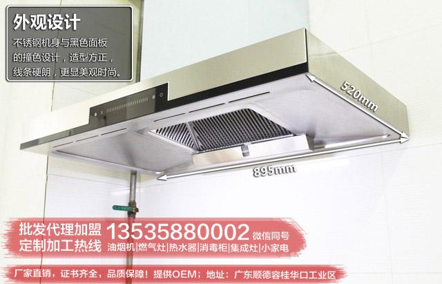 OEm欧式抽油烟机代加工生产批发厂家